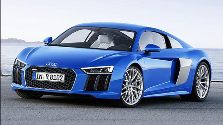 Nuova Audi R8, ora anche elettrica