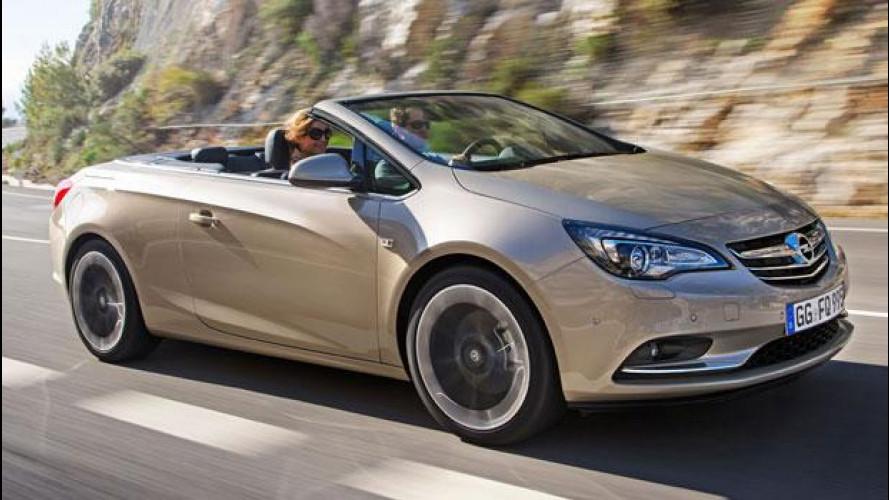 Opel Cascada, cabriolet al prezzo