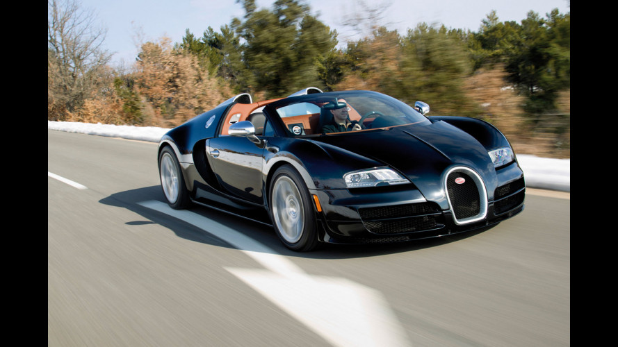 Bugatti Veyron Grand Sport Vitesse: il video