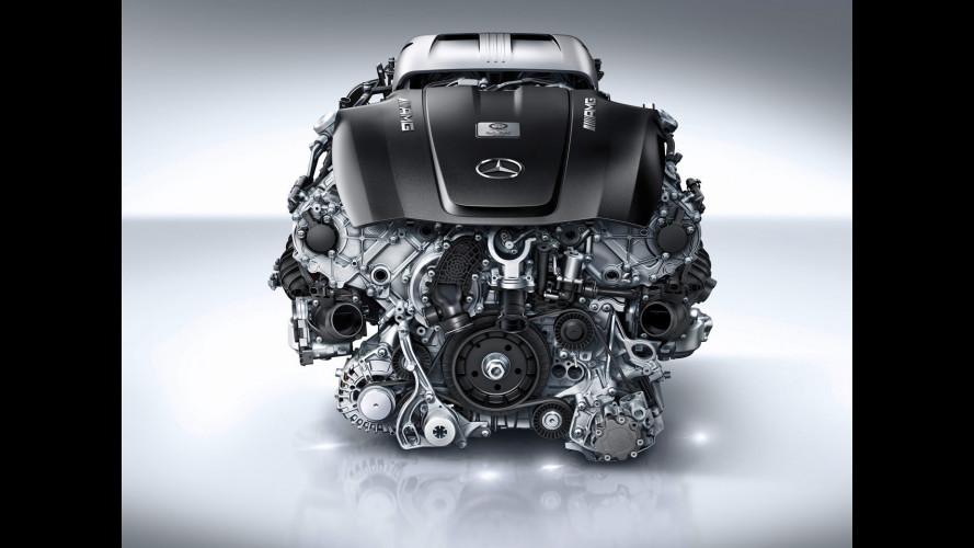 Mercedes-AMG GT, ecco il 4.0 V8 biturbo