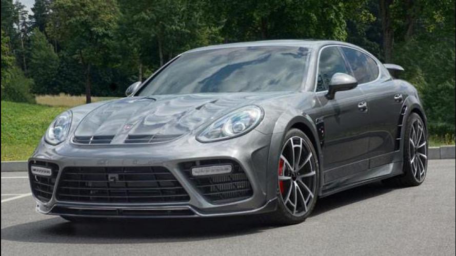 "Porsche Panamera Mansory, potenza ""ultraleggera"""