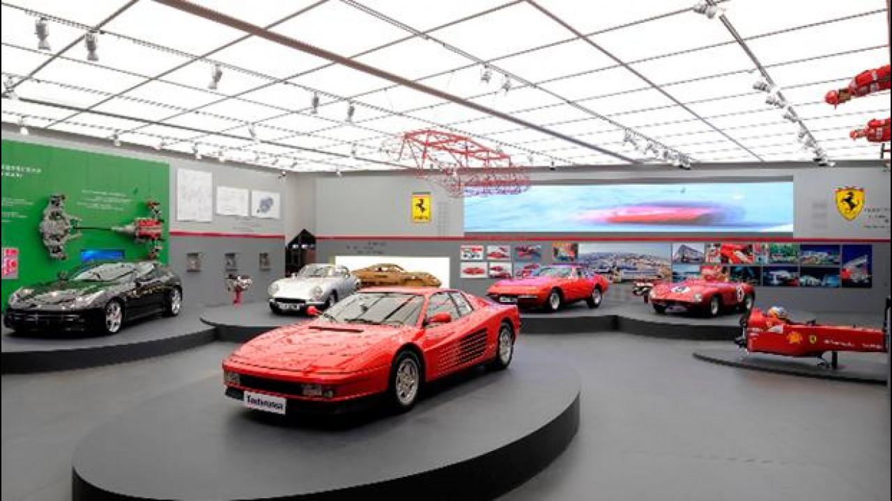 """[Copertina] - Inaugurata la mostra """"Mito Ferrari"""" all'Italian Center dello Shanghai Expo Park"""