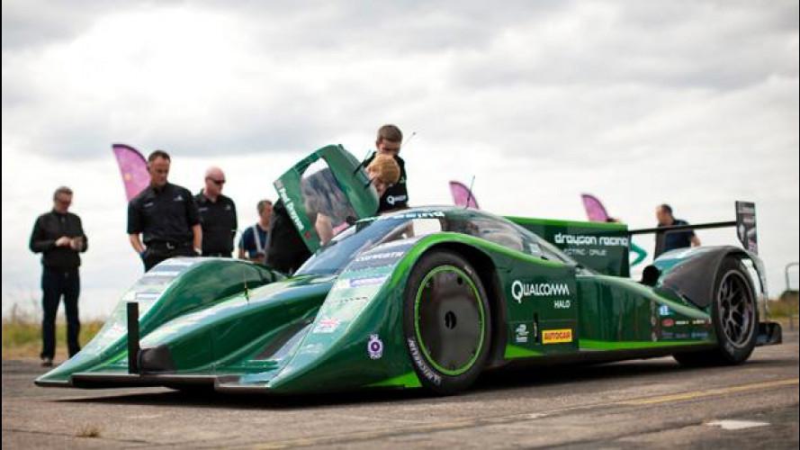 Un'auto elettrica a 328,6 km/h, è il nuovo record mondiale di velocità