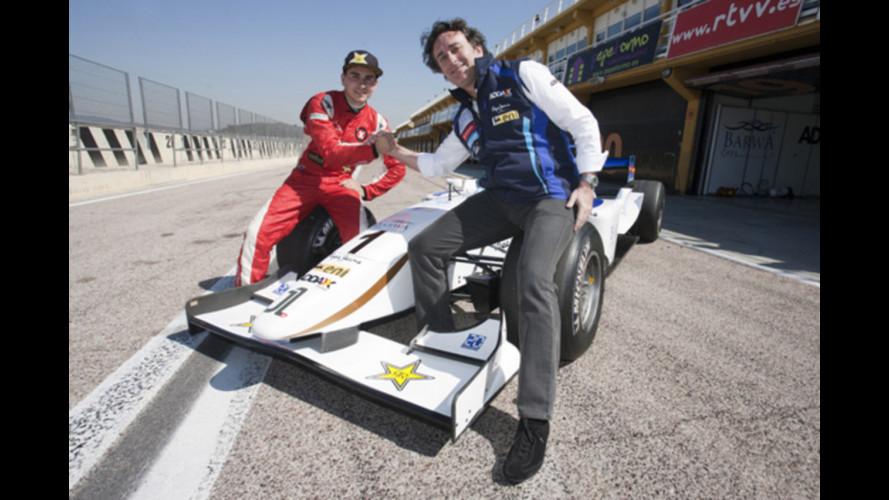 Jorge Lorenzo debutta in GP2