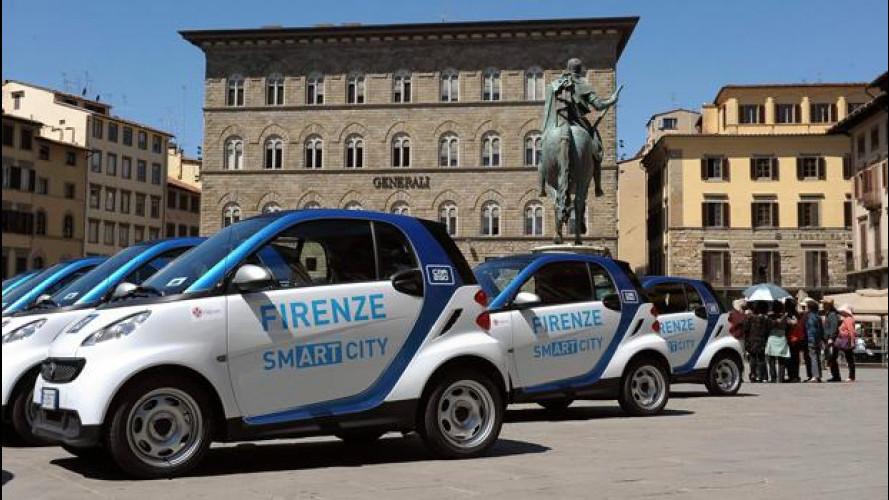 car2go ha raggiunto i 10.000 iscritti a Firenze
