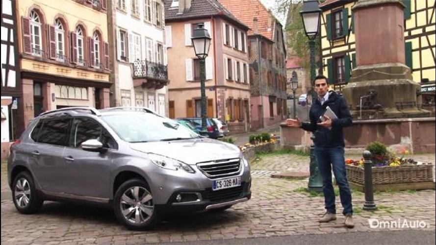 """Peugeot 2008, il crossover """"leggero"""" per la città [VIDEO]"""