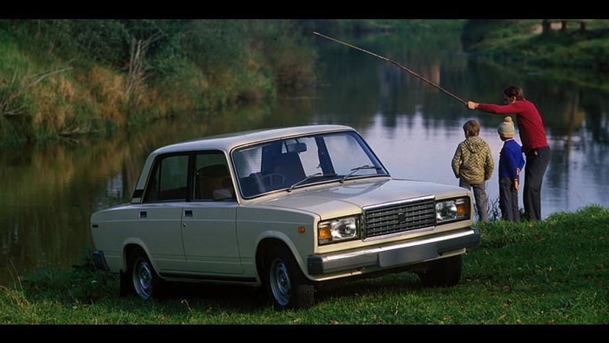 La Fiat 124 russa va in pensione