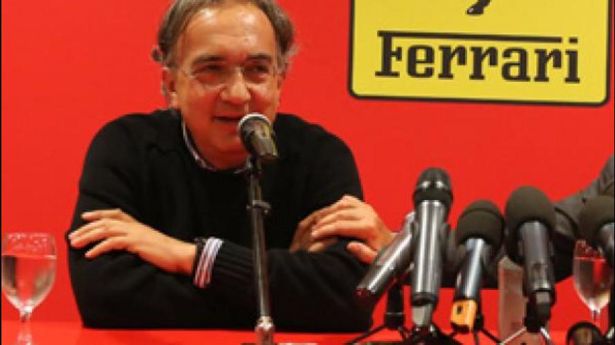 Ferrari, il primo giorno del presidente Marchionne a Maranello