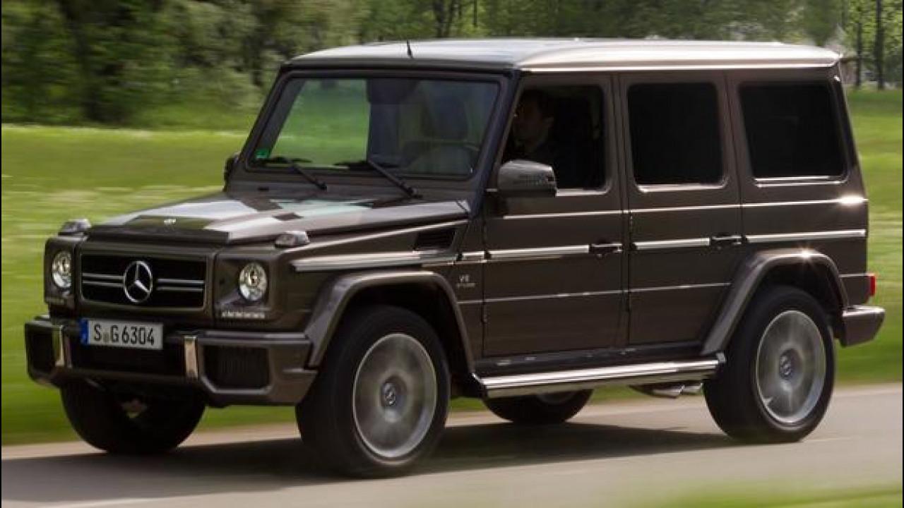 [Copertina] - Mercedes Classe G 2012, più invecchia e più è in forma