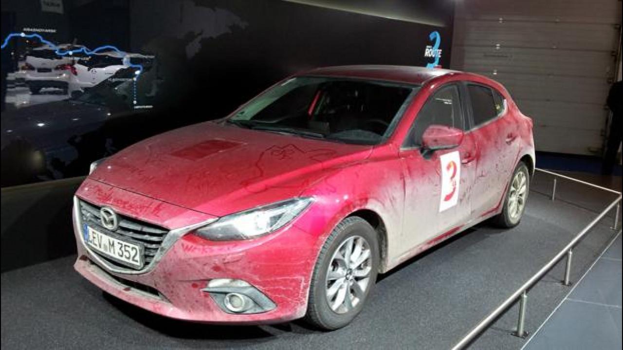 [Copertina] - Salone di Francoforte: Mazda3 la maratoneta