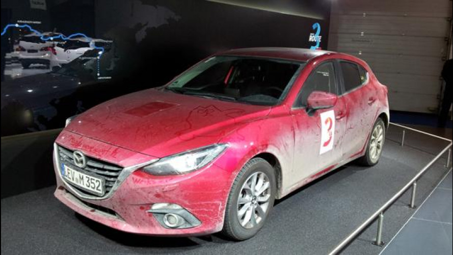 Salone di Francoforte: Mazda3 la maratoneta