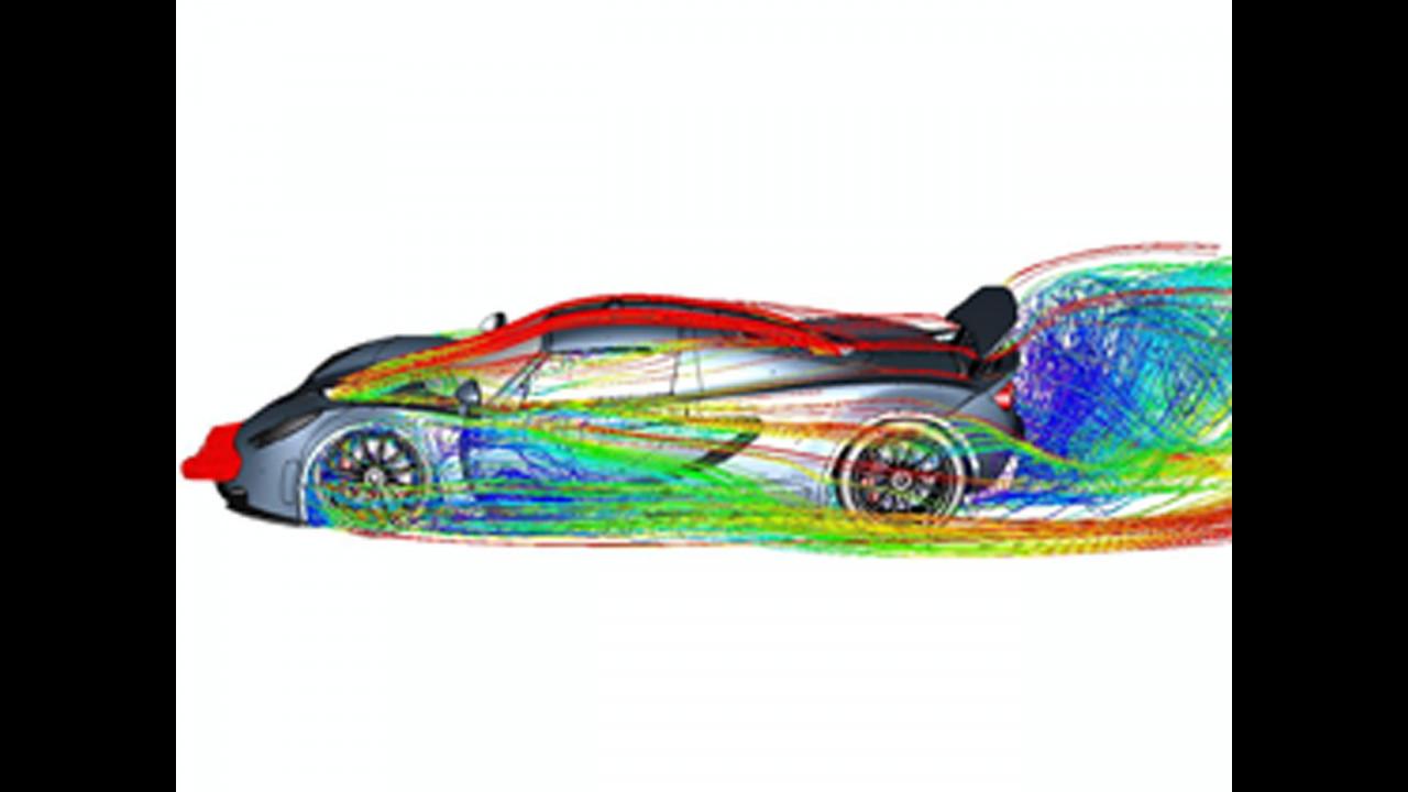 Hennessey studia l'aerodinamica della Venom GT