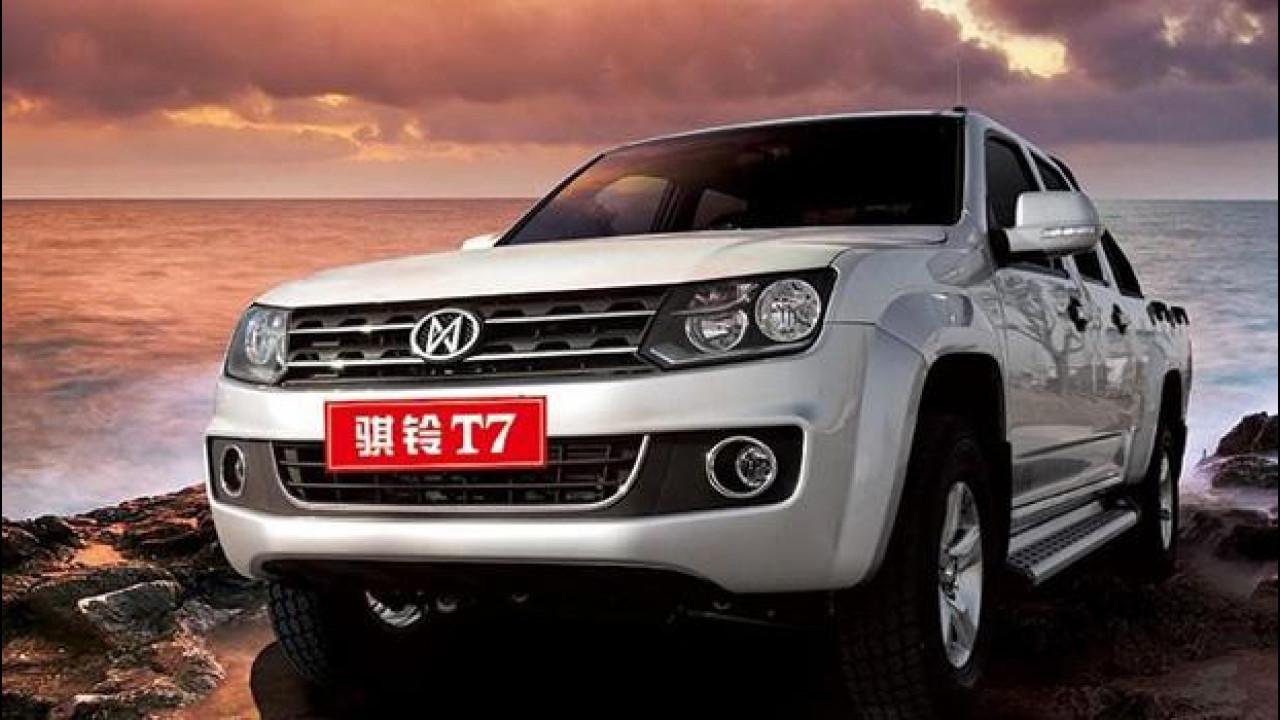 [Copertina] - Volkswagen Amarok, ecco la copia cinese