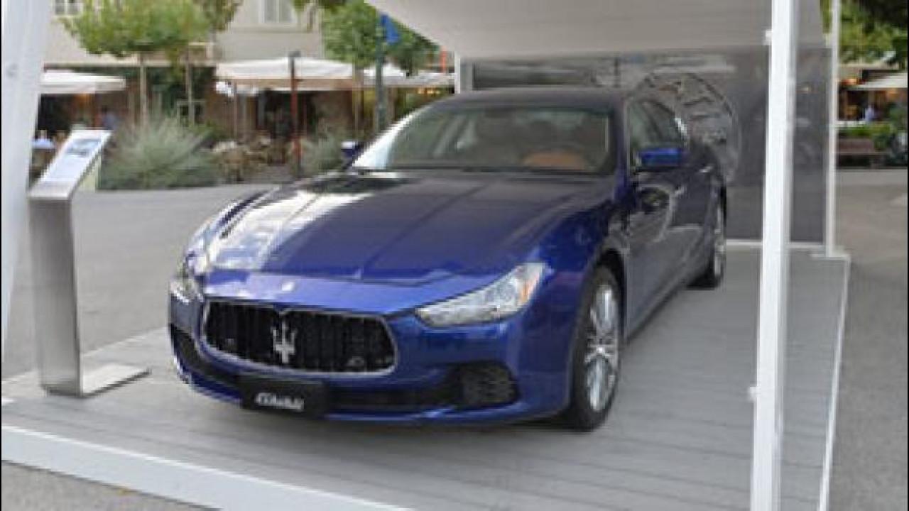 [Copertina] - Maserati, mix di VIP per il Centennial Tour