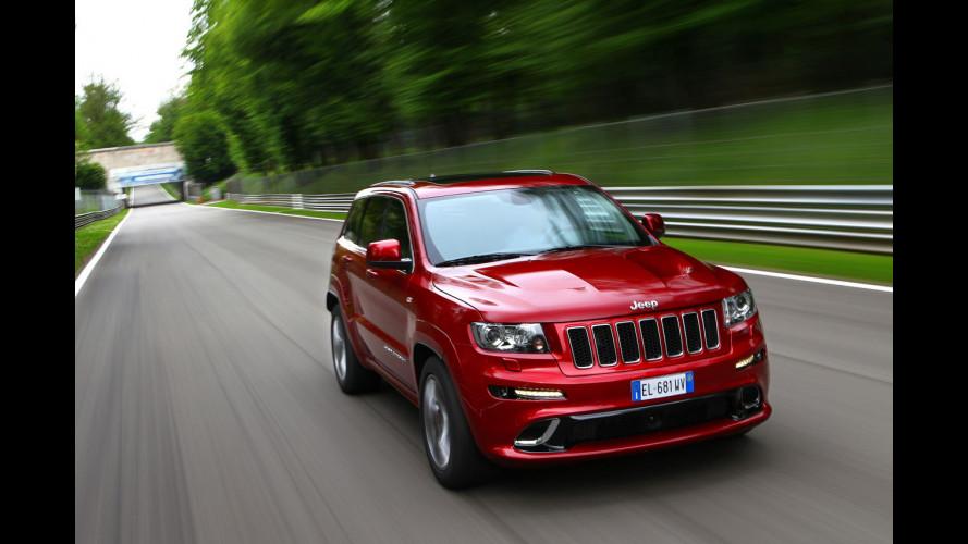 """Jeep Grand Cherokee SRT, la SUV col V8 """"Made in USA"""""""