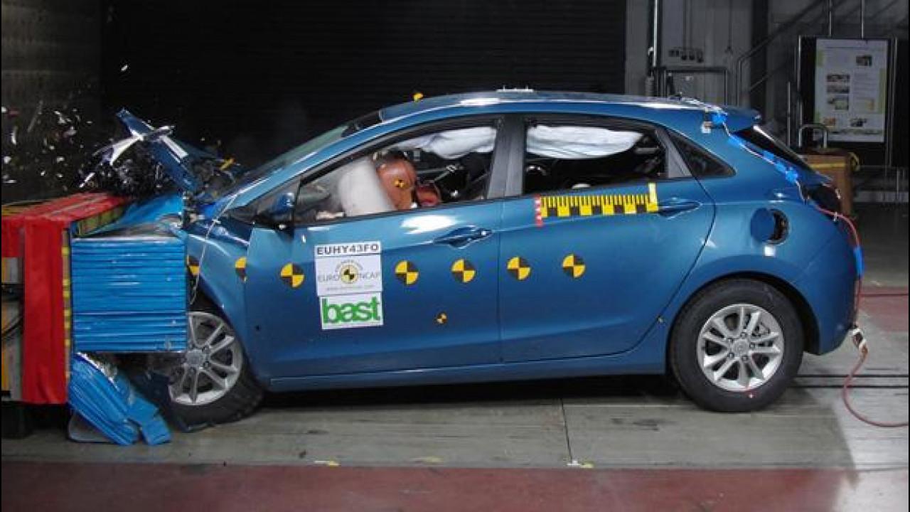 [Copertina] - Anche la nuova Hyundai i30 guadagna le 5 stelle Euro NCAP