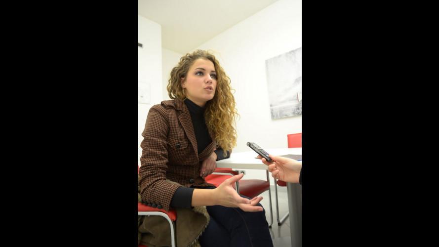 """Miss Italia 2012 ai giovani: """"Vi consiglio un corso di guida sicura"""""""