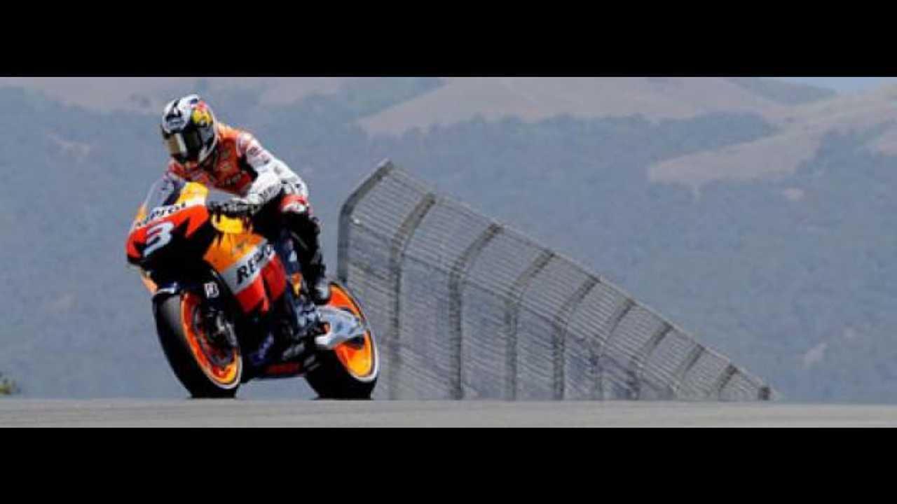 MotoGP 2009: Pedrosa vince a Laguna Seca ma...