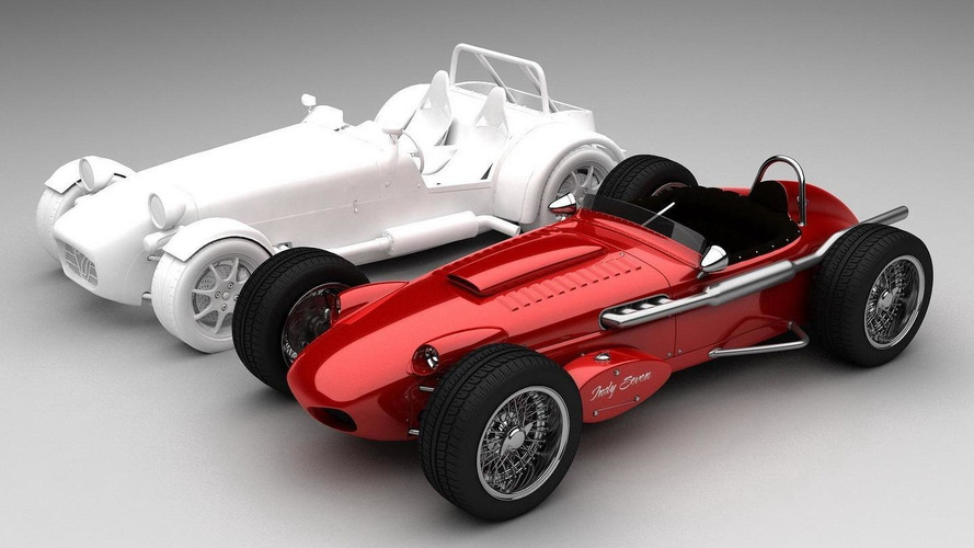 Caterham Seven spiritual successor virtually envisioned