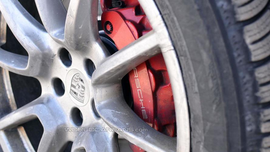 2015 Porsche Macan GTS spied undisguised