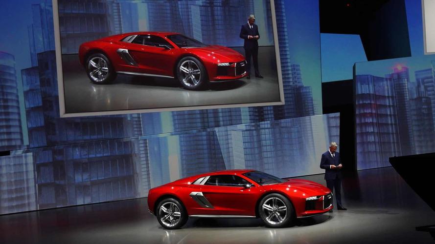 Audi nanuk quattro au Salon de Francfort