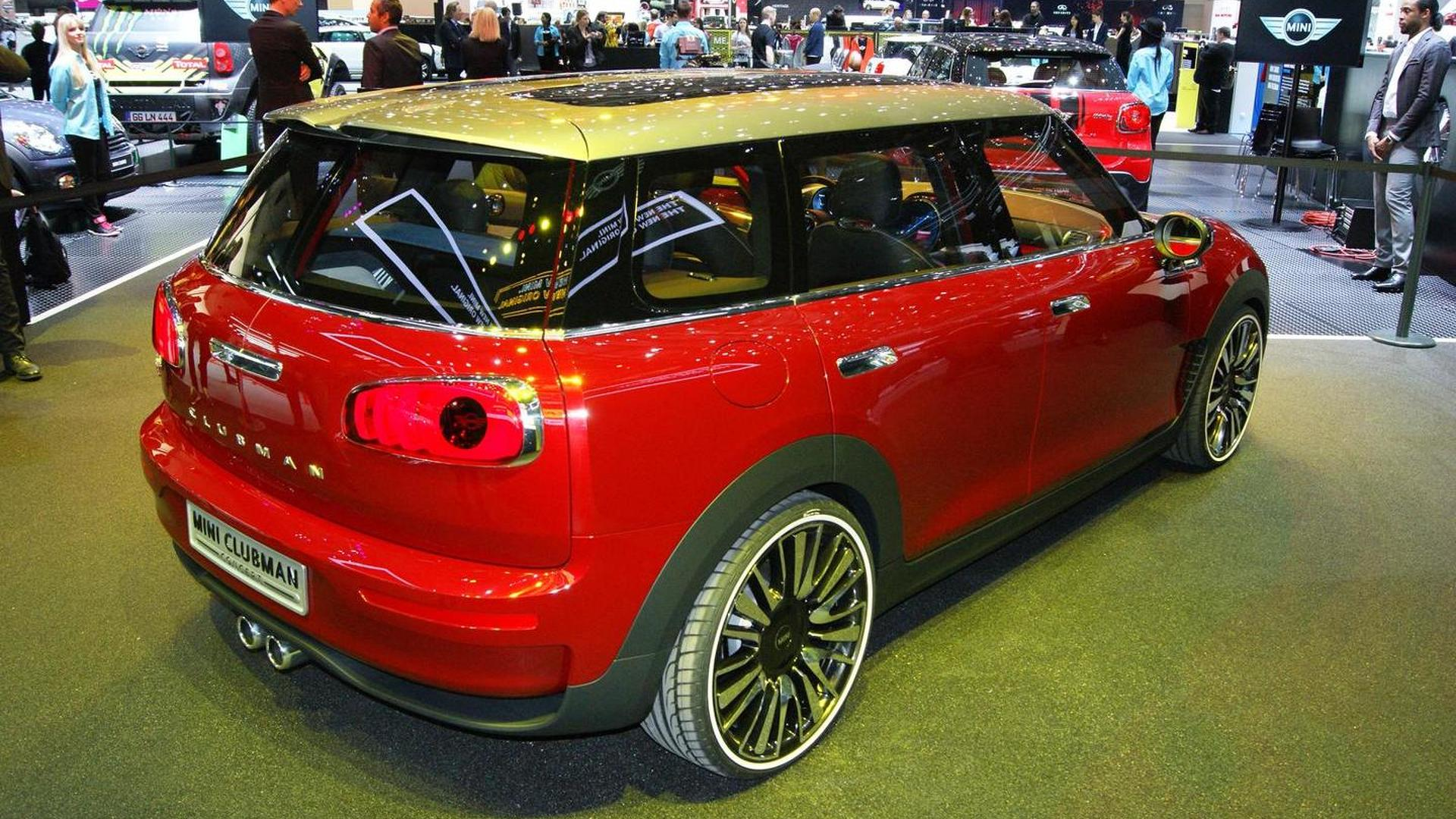 Mini Clubman Production Comes To An End Successor Due In 2015