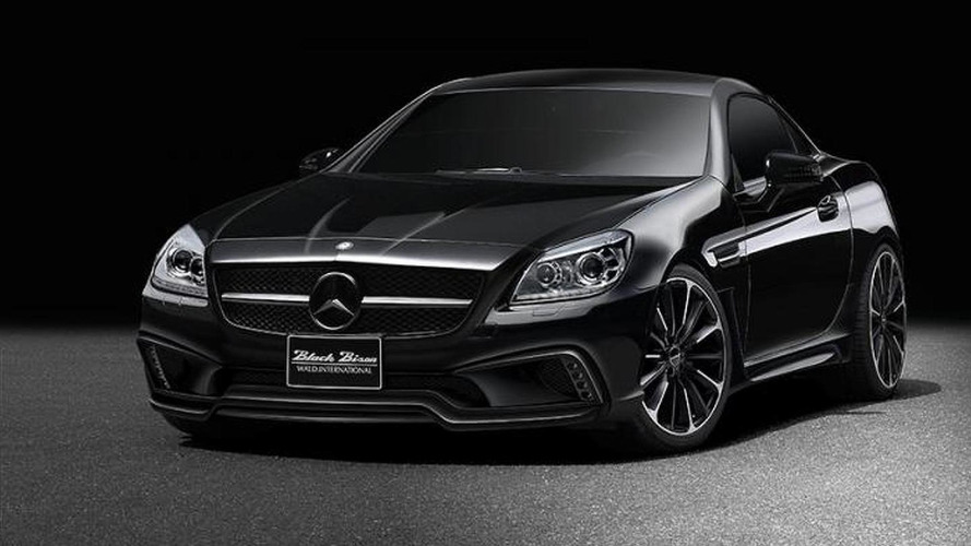 Wald International previews their Black Bison Sports Line package for the Mercedes SLK