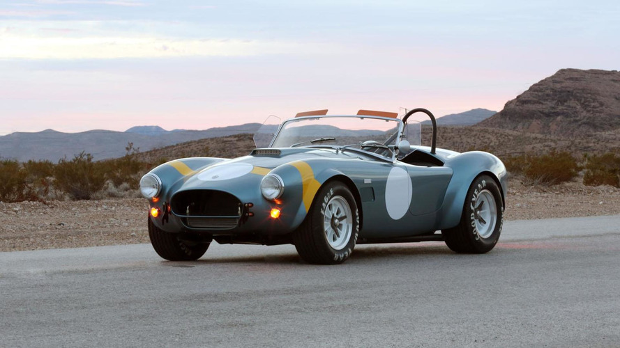 Shelby celebrates the 50th anniversary of the FIA Cobra with a retro special edition