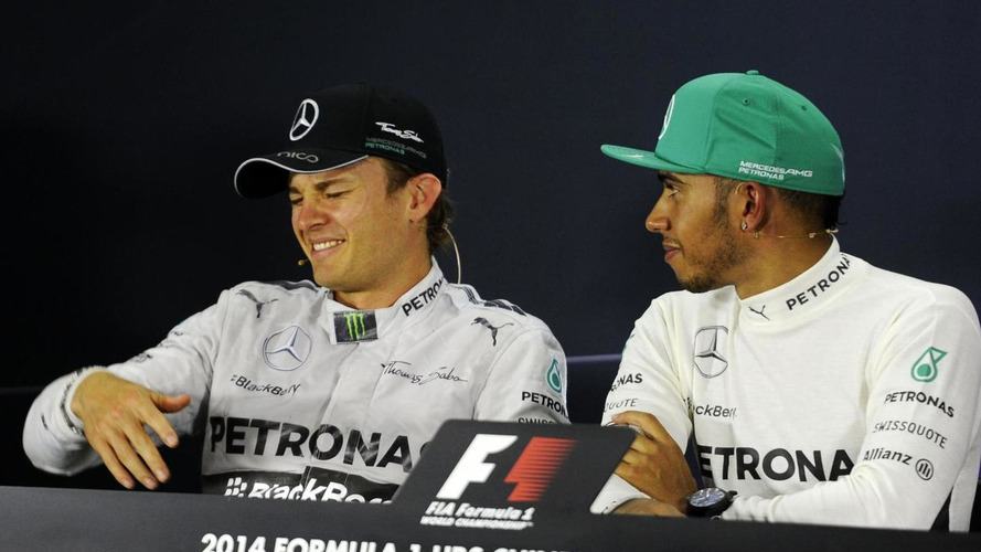 Rosberg ready for 'war' with Hamilton