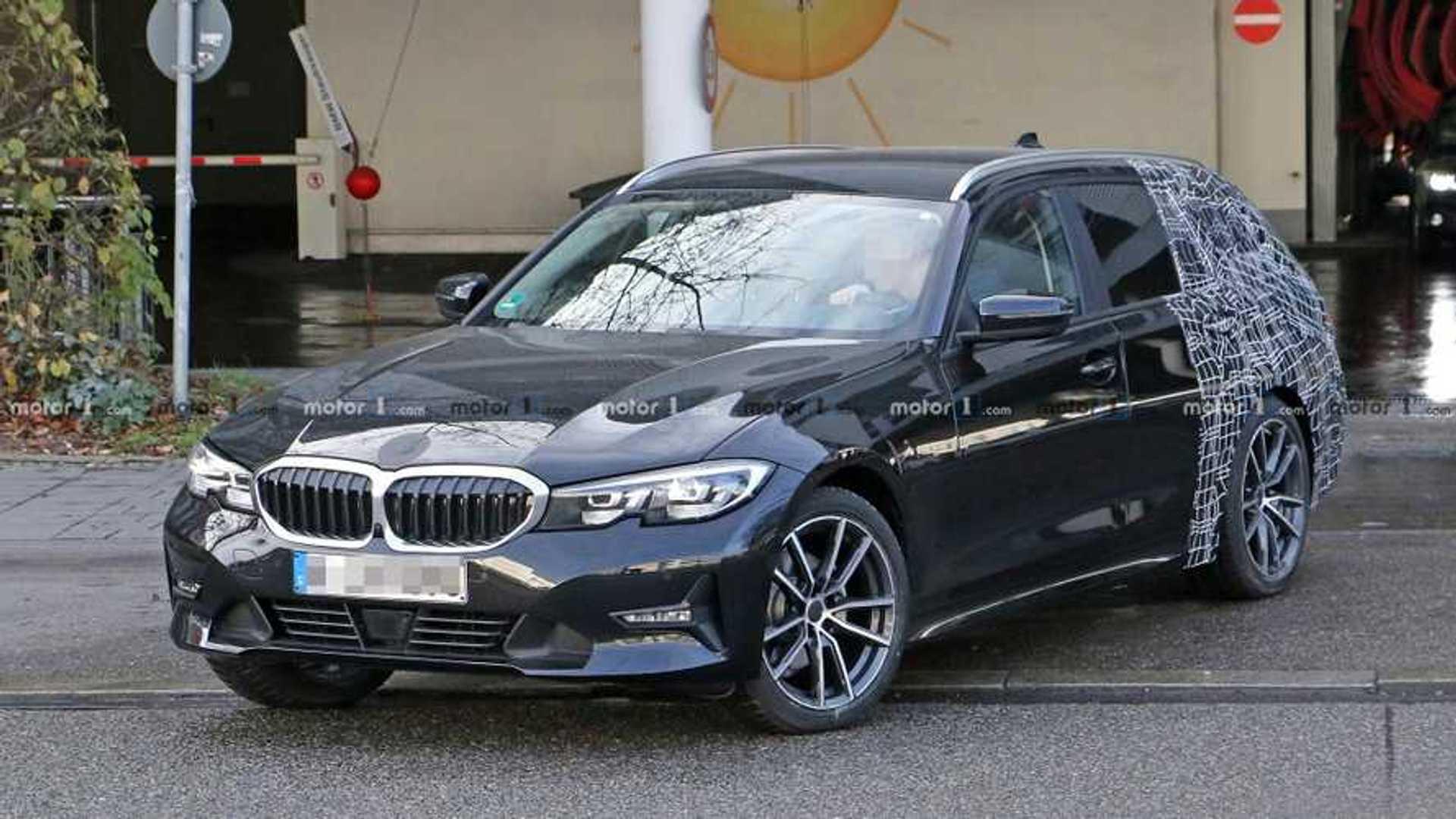 2018 - [BMW] Série 3 [G20/G21] - Page 29 Bmw-3-series-touring-spy-shots