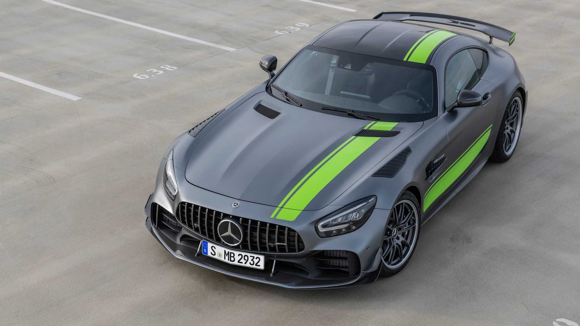 Mercedes-AMG GT 2019, restyling con sorpresa incluida