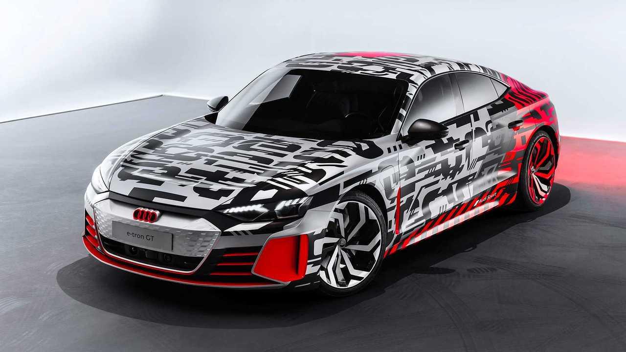 2019  Audi e-tron GT konsepti teaser
