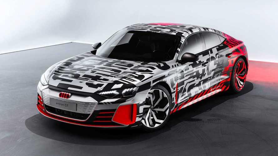 Sedã elétrico Audi e-tron GT aparece nas primeiras imagens oficiais