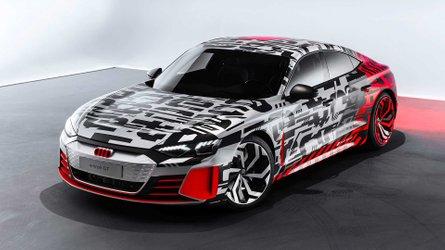 Audi e-tron GT - Premières photos de la berline électrique !