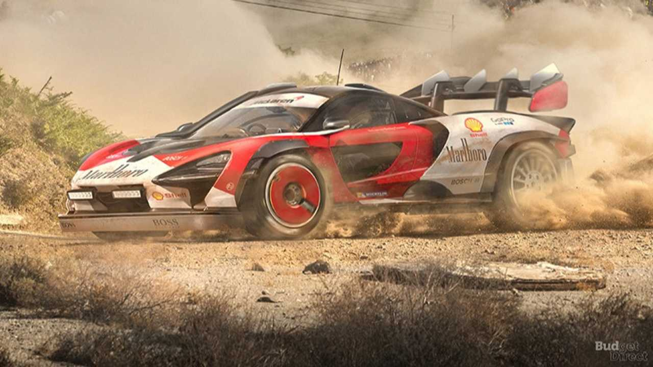 6. McLaren Senna Rally Car