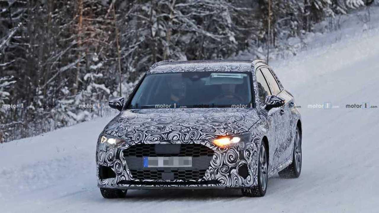 2019 Audi S3 Sportback İçten ve Dıştan Casus Fotoğrafları