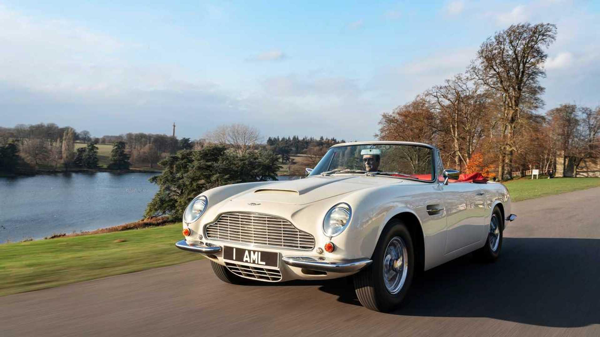 Aston Martin Db6 Volante Oldtimer Mit Elektro Herz