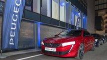 Peugeot 508 2018 y su tecnología nocturna