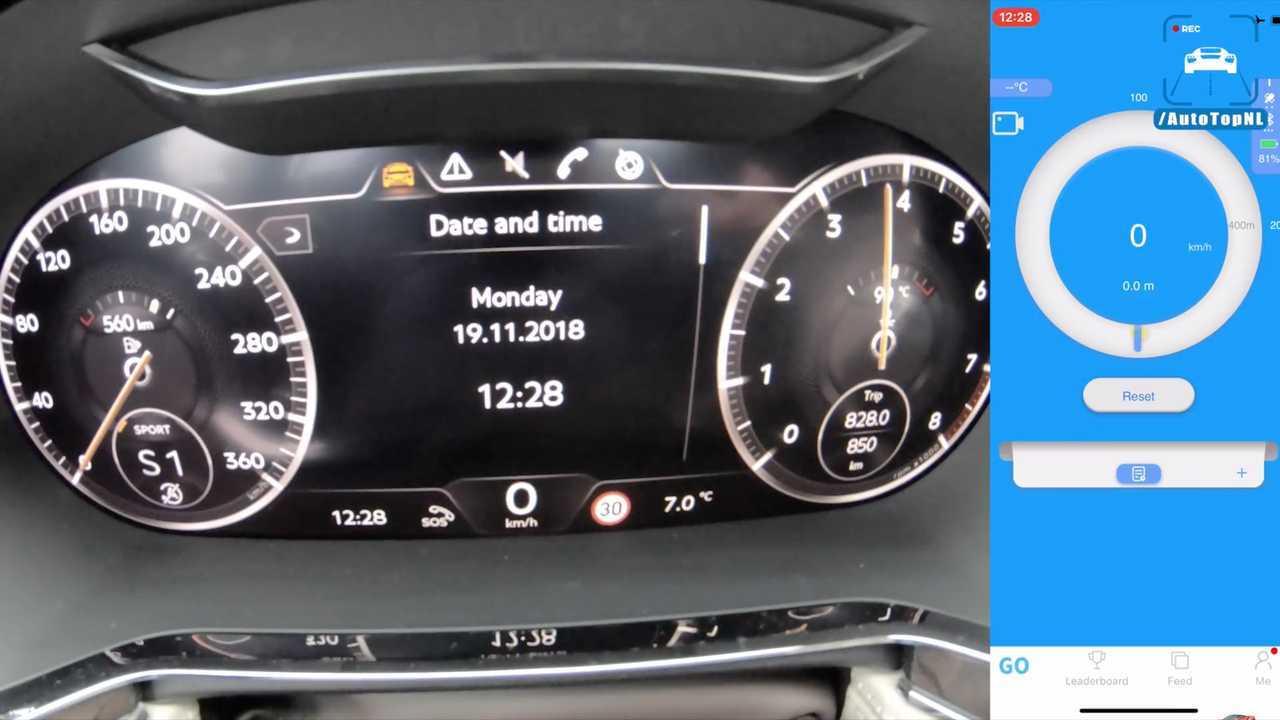 2019 Bentley Continental GT Hits 204 MPH