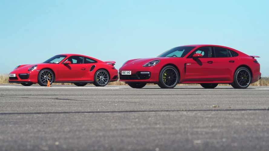 Panamera Turbo S, 911 Turbo S'e drag yarışında yetişebiliyor mu?