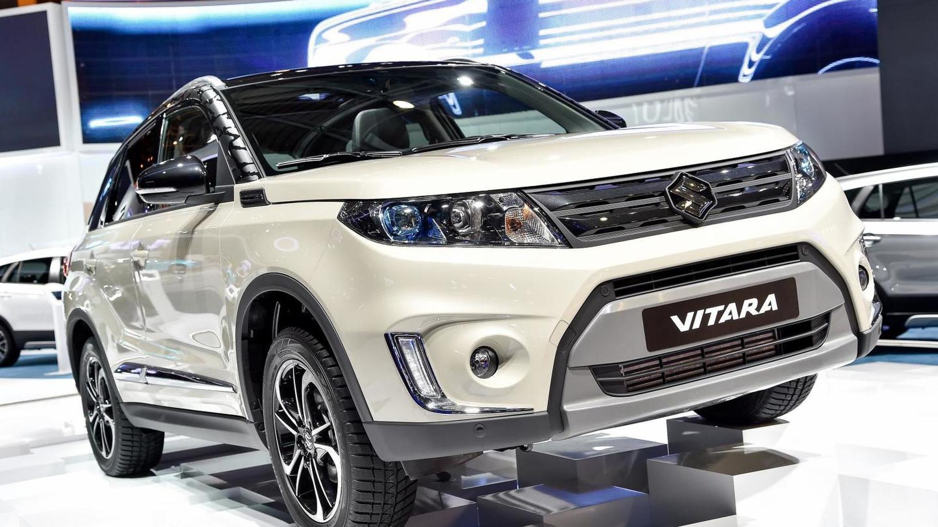New Suzuki Vitara Shows Its Familiar Design In Paris