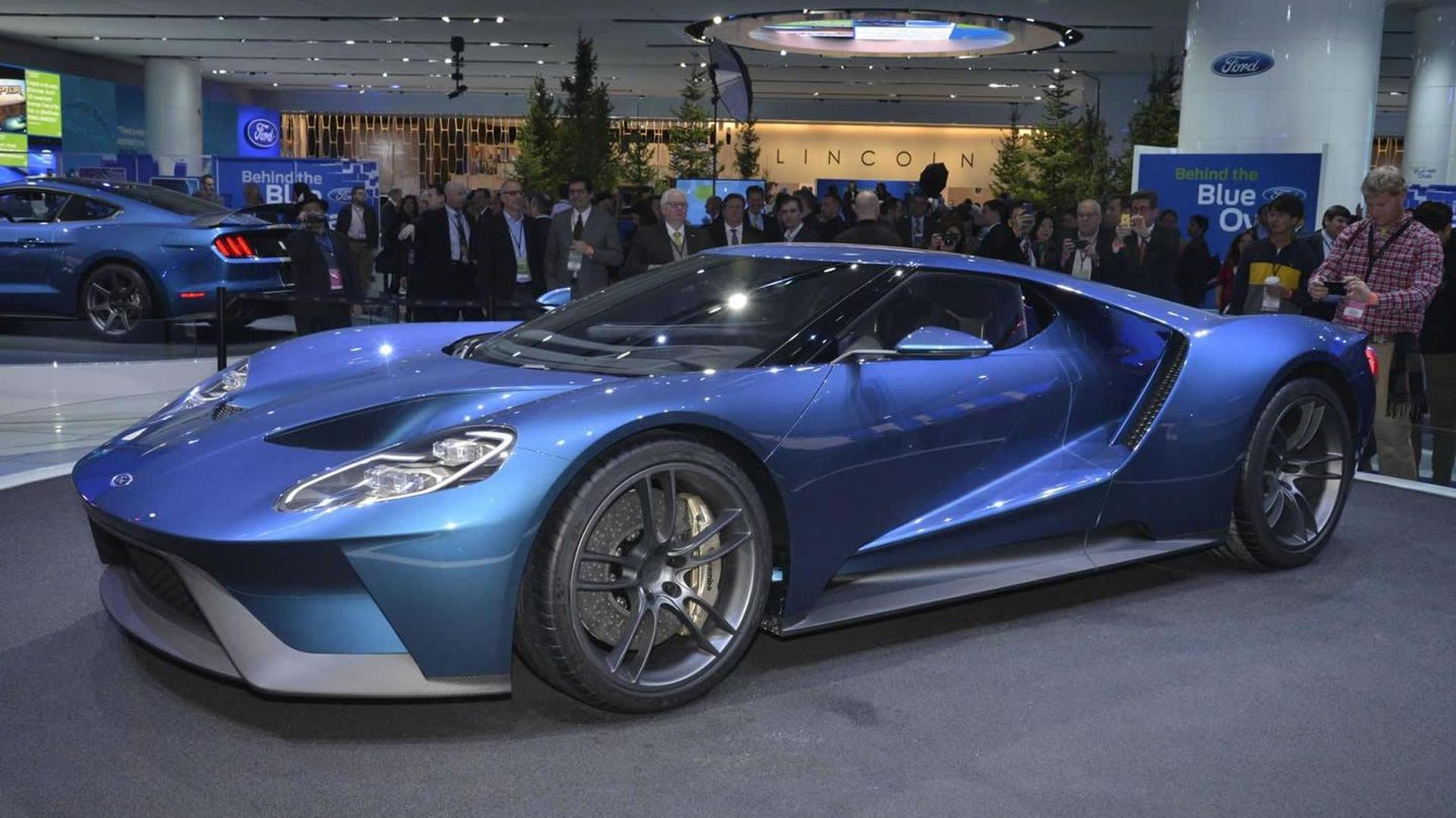 Ford Gt Breaks Cover With 600 Bhp Twin Turbo V6 99 Honda Civic Engine Fuse Box Under