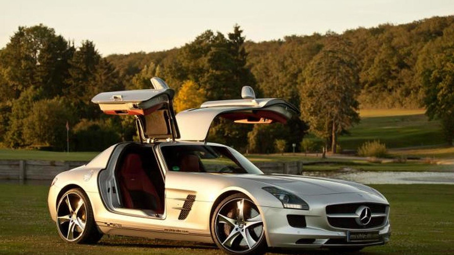 Mercedes SLS AMG MC700 by McChip