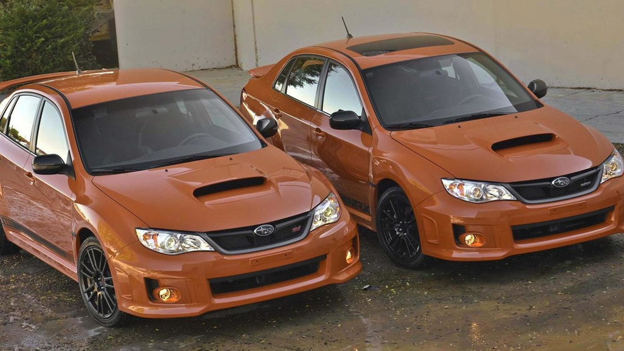 2013 Subaru WRX & WRX STI special editions announced for SEMA