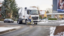 Mercedes Actros con Active Brake Assist