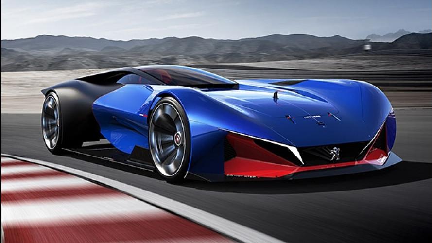 Peugeot L500 R HYbrid, per correre domani