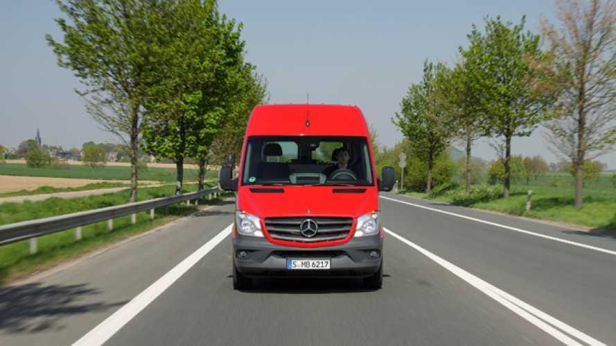 Nuovo Mercedes Sprinter, prime impressioni