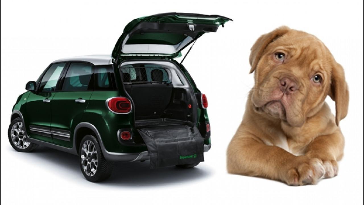 """[Copertina] - Fiat 500L si arricchisce di accessori """"per cani"""""""
