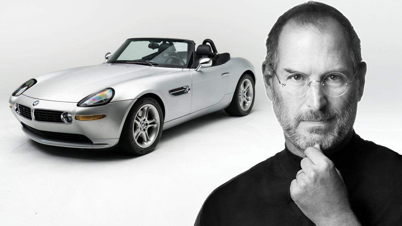 [Copertina] - All'asta la BMW Z8 di Steve Jobs, con tanto di Motorola