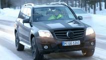 Mercedes GLK spy photos